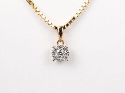 "Diamant anheng ""Victoria"""