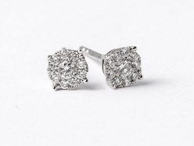 Diamant øredobber«Victoria»