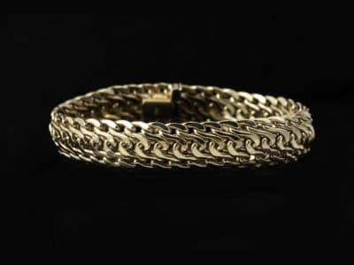 Gull armbånd