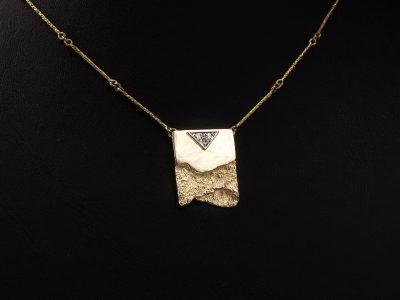 Gullkjede med Diamanter